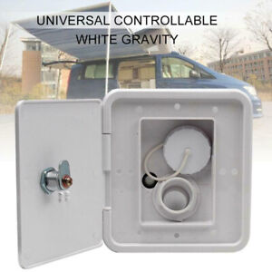 1x Gravity Inlet Parts Hatch Cover Screws Caravan Square Water Intake Lockable