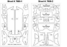 Scale Motorsport 7008 1/20 Williams FW24 Template Comp. Fiber Decal Set