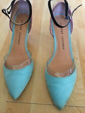 Chinese Laundry Turquois Ankle Strap Pumps Size 8.5