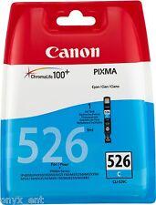 Genuine Canon CLI-526C CIANO CARTUCCIA INCHIOSTRO PER PIXMA MX715 MX885 MX895 MG8170