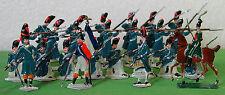 Heinrichsen Plats d'Etain 24 Grenadiers de la Garde au  Feu Livraison Monde