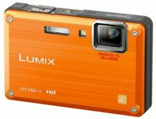 Panasonic Waterproof Digital Camera Lumix (Lumix) Ft1 Sunrise Orange Dmc-Ft1-D