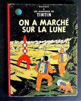 """E.O. B26 Tintin """"On a marché sur la Lune"""" 1959 par Hergé"""