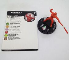 Heroclix Marvel's What If? set Daredevil #029 Rare figure w/card!