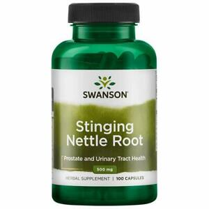 SWANSON Stinging Nettle Root 500mg 100 caps Prostate and Urinary Tract Health