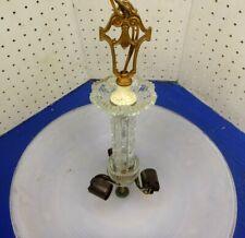 Vintage Art Deco Ceiling Light Lamp Fixture  Chandelier  Glass