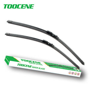 Front Windshield Wiper Blades for BMW 5 Series 6 Series 2004-2010 windscreen