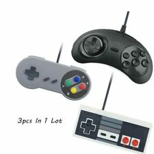 3pc USB Wired Game Controllers Joysticks For PC Snes USB PC Gamepad Gaming SEGA