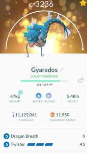 Gyarados Trade Pokémon GO - Legacy Moveset - Shiny - MAX CP