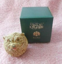 Harmony Kingdom Roly Poly Trinket Box Brando - Dog Tjrpho New in Box