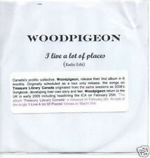 (419O) Woodpigeon, I Live A Lot of Places - DJ CD