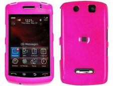 Hot Pink Hard Plastic Phone Protector Cover Case For BlackBerry Storm 9500 9530