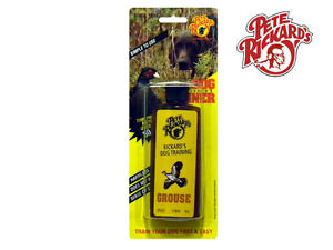 PETE RICKARDS - NEW 4 OZ. GROUSE DOG TRAINER SCENT - DE633 BIRD HUNTING