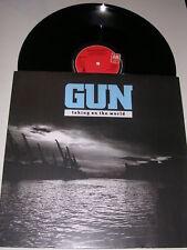 "GUN - Taking On The World - 1989 UK 3-track 12"""