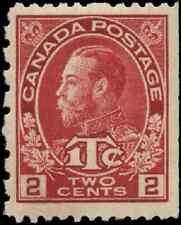 Canada #MR5 mint VF OG VLDG 1916 King George V Admiral 2c carmine War Tax