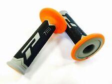 Guidons, poignées et leviers orange PROGRIP pour motocyclette