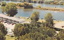 Kingsburg California Riverland Birds Eye View Vintage Postcard J70747