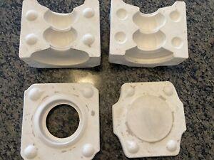Vintage Holland Mold Slip Cast Casting Ceramic Mold Candlestick Holder H1584