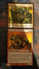 Mtg siege-gang commander  x 2  great condition