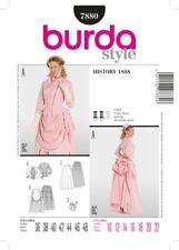 Burda SEWING PATTERN 7880 Victorian Costume Circa 1888 Sizes 10-22