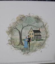 P Buckley Moss Print 2003 Seasons of Love Spring