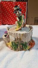 Fitz & Floyd Paint Party Relmbrant Rabbit Lidded Box,New w/orig box Thanksgiving