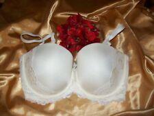 Charnos Embrace 1183030 Ivory U/W Lace Overlay Padded Multiway Bridal Bra 34E