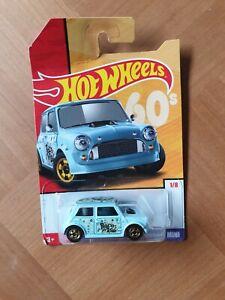Hot Wheels 1/64 Austin Mini Van ☮peace love ☮60s☮ 2019 Target THROWBACK Decades
