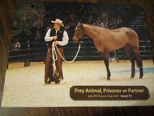 Parelli Savvy Club Dvd Issue 51 Natural Horsemanship