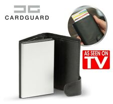 Card Guard Kartenetui, Leder, Auswurf-Mechanismus EC-Karten portemonnaie aus TV