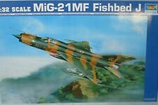 Eduard Accessories 32054 MiG-21 MF exterior set für Trumpeter Bausatz in 1:32