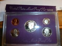 One 1993 Official  U S Proof  Set #P1993