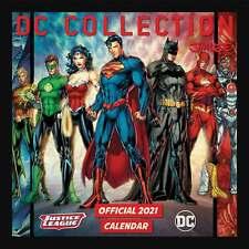DC Comics Collection, Justice League Official Calendar 2021
