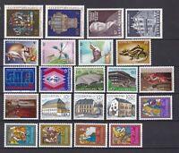 Luxemburg postfrisch Jahrgang 1987 siehe Bilder