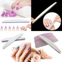 100/180 Sanding Professional 2/6/10Pcs Files Grit Acrylic Manicure Nail File