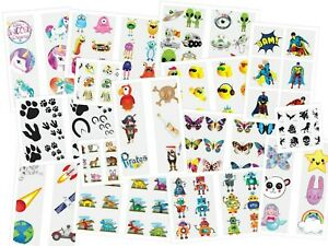 72 Temporary Tattoos Choose from 39 Designs Pinata Toy Loot/Party Bag Fillers