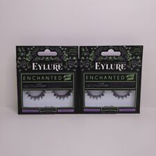 2x Eylure Enchanted Afterdark Neon Dreams Reusable Eyelashes Limited Edition