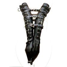 Armbinder Restraint Gloves Lackable Belt - Davidsource Double Gloves Armbinder &