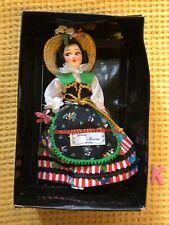 Beautiful Vintage Diano Matina Italian Ceramic Doll In Box