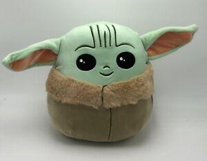 "Squishmallows 10"" Baby Yoda The Child Mandalorian Plush Stuffed Toy KellyToy NEW"