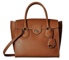 Lauren Ralph Lauren Millbrook Large Flap Satchel Handbags Kp154