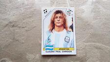 Panini World Cup Story Sticker No 225 Claudio Caniggia Italy 90