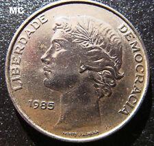 1985 25 escudos portugueses Liberty moneda en muy buenas + Grado
