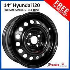 "HYUNDAI i10 2008-2013 FULL SIZE STEEL SPARE WHEEL 14""  STEEL RIM, Replacment RIM"