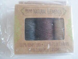 Natural Elements Hemp Cord Bead Smith NIP