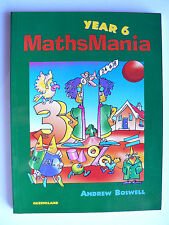 Mathsmania: Year 6 by Andrew Boswell (Paperback, 1998)