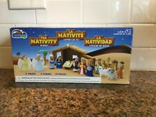 The Nativity Playset by Bible Toys ~ New