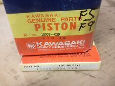 Piston & Ring Set STD               F5 F9 350 13001-039 13008-024   NOS Kawasaki