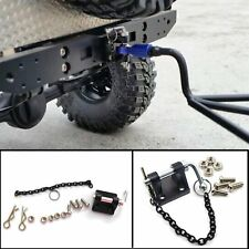 Metal Trailer Hook Tow & Shackle For 1:10 Scale RC Rock Crawler Truck TRX-4 TRX4