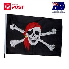 Pirate Jolly Roger Skull and Cross Bones Quality Outdoor Flag HD